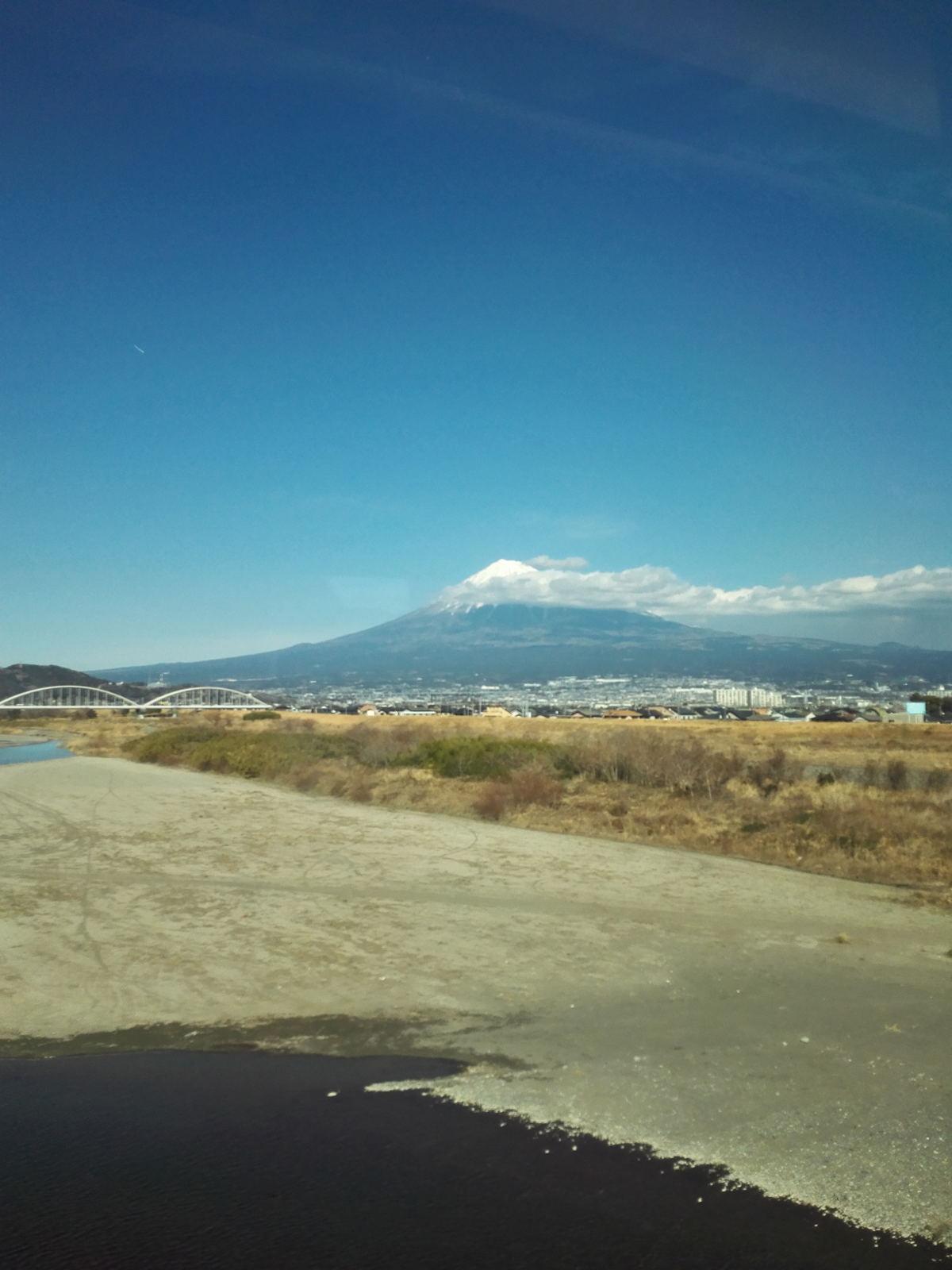 車窓から富士