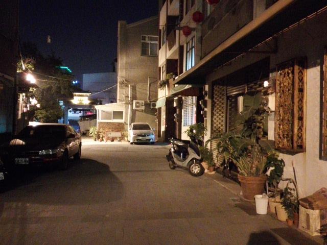 台南の小道