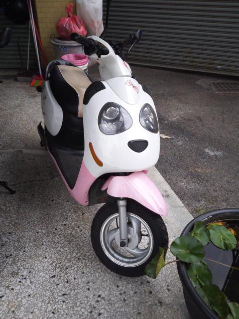 ピンクパンダバイク