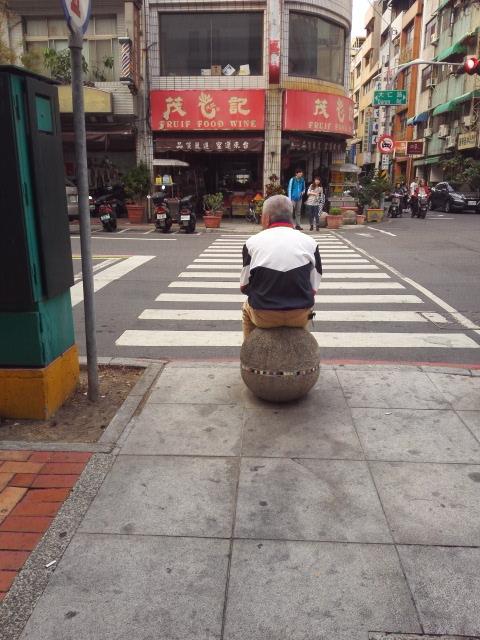 台湾の可愛いおじいさん@高雄