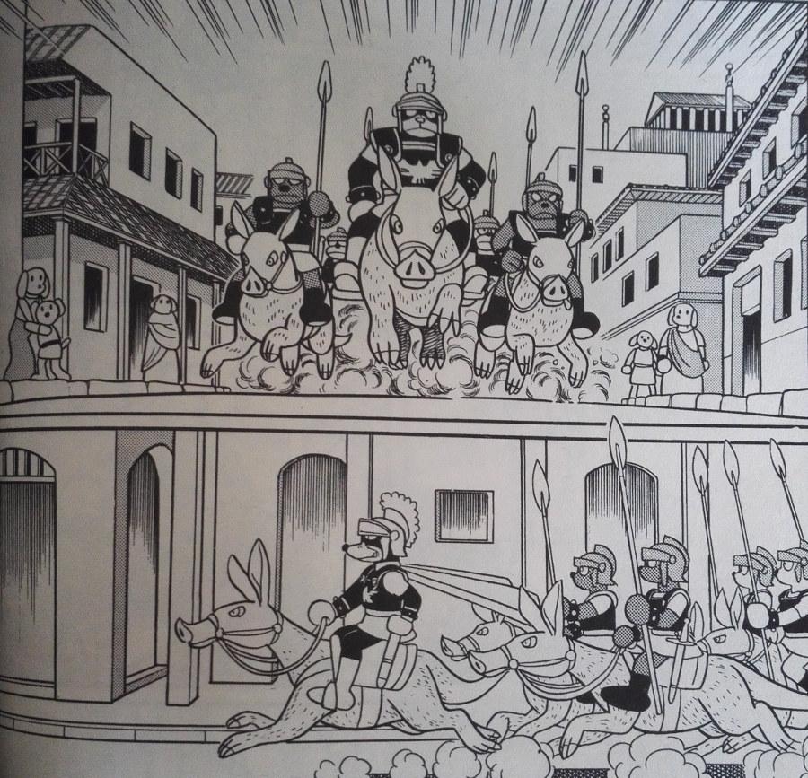ドラえもんの世界観の古代アテネ