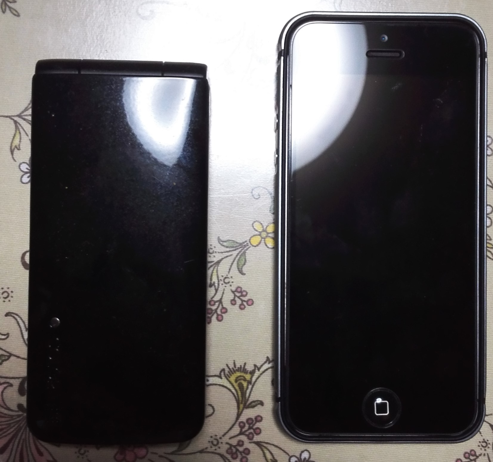 103PとiPhone5s