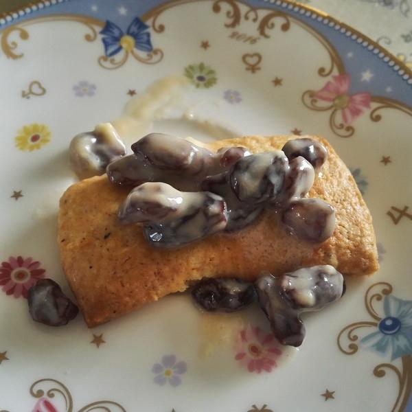 レーズンバタークッキー