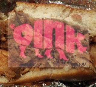 Oink エジンバラB級グルメ