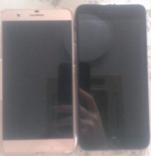 honor6plusとiPhone6plusの比較